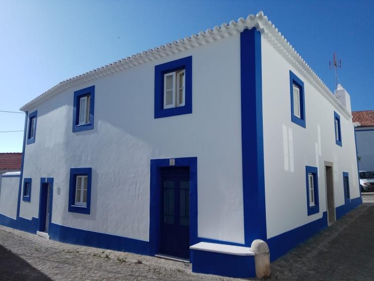 Casa na Ericeira, litoral português. Foto: Flávia Motta