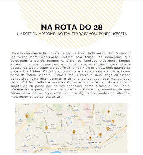 E-book Passear, viver e investir em Lisboa; dicas turísticas